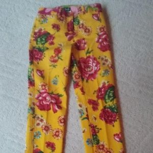 Dolce & Gabbana Flowered Jeans